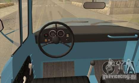 DAC 6135 R для GTA San Andreas вид сзади слева