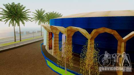 Новые текстуры стадиона в Лос-Сантосе для GTA San Andreas третий скриншот