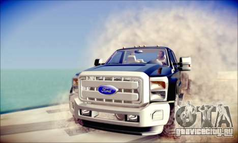 Ford F450 Super Duty 2013 HD для GTA San Andreas