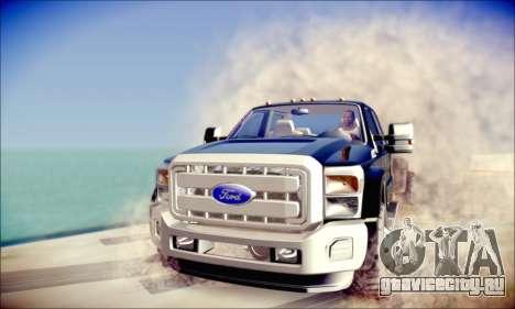 Ford F450 Super Duty 2013 HD для GTA San Andreas