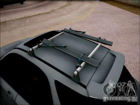 Subaru Impreza Wagon 2002 для GTA San Andreas вид сзади