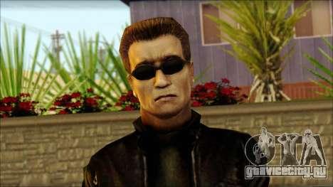 Арнольд Шварцнегер для GTA San Andreas третий скриншот