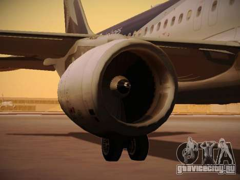 Airbus A320-214 LAN Airlines 100th Plane для GTA San Andreas колёса