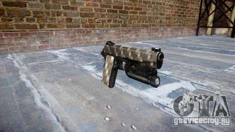 Пистолет Kimber 1911 Carbon Fiber для GTA 4