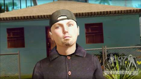 Fred Durst from Limp Bizkit v1 для GTA San Andreas третий скриншот