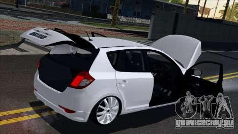 Kia Ceed для GTA San Andreas вид сбоку