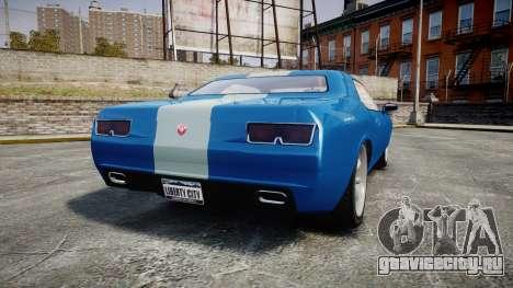 GTA V Bravado Gauntlet для GTA 4 вид сзади слева