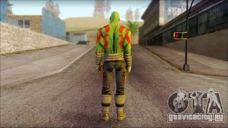 Guardians of the Galaxy Drax для GTA San Andreas второй скриншот