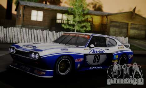 Ford Capri RS Cosworth 1974 Skinpack 2 для GTA San Andreas