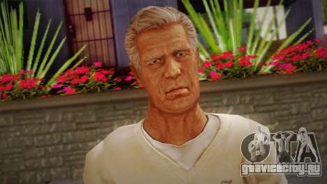 Frank Sunderland From Silent Hill: The Room для GTA San Andreas третий скриншот