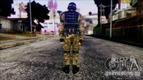 Soldier from Prototype 2 для GTA San Andreas второй скриншот