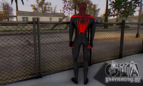 Skin The Amazing Spider Man 2 - New Ultimate для GTA San Andreas третий скриншот
