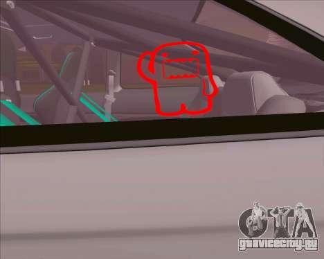 Honda Civic EM1 V2 для GTA San Andreas вид справа