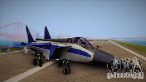 MIG-31 from H.A.W.X. для GTA San Andreas