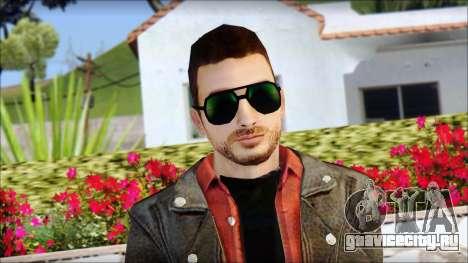 Young Bikerman Skin для GTA San Andreas третий скриншот