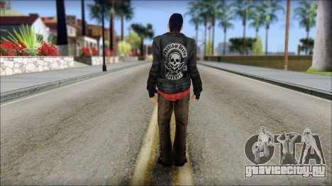 Young Bikerman Skin для GTA San Andreas второй скриншот