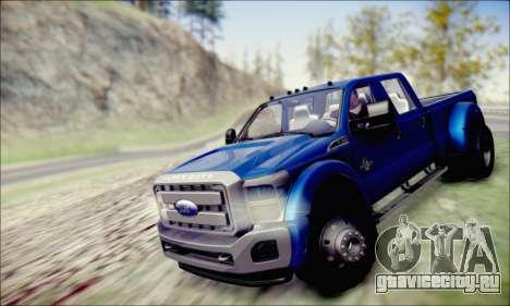 Ford F450 Super Duty 2013 HD для GTA San Andreas вид справа