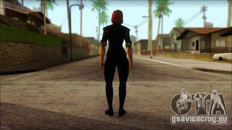 Mass Effect Anna Skin v6 для GTA San Andreas второй скриншот
