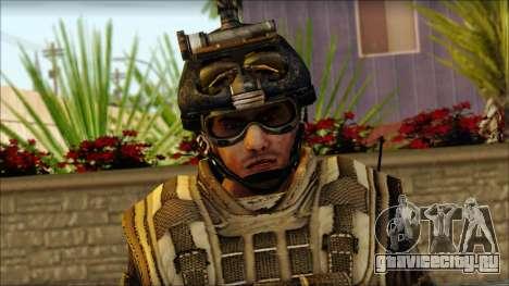 Солдат ЕС (AVA) v5 для GTA San Andreas третий скриншот