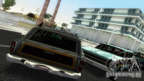 Ford Country Squire для GTA Vice City вид слева