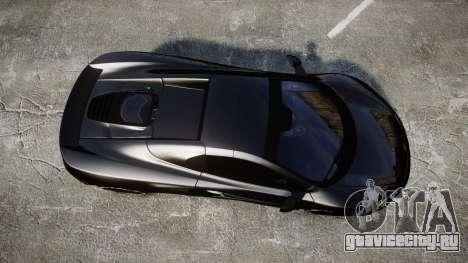 McLaren 650S Spider 2014 [EPM] Goodyear для GTA 4 вид справа