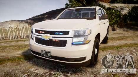 Chevrolet Tahoe 2015 PPV Slicktop [ELS] для GTA 4