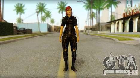 Mass Effect Anna Skin v7 для GTA San Andreas