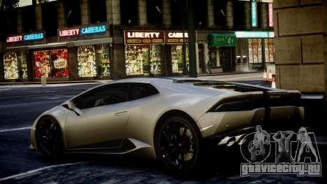 Lamborghini Huracan LP850-4 2014 Wheelsandmore для GTA 4 вид слева