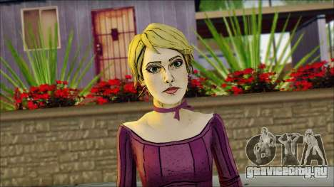 Vivian from Wolf Among Us для GTA San Andreas третий скриншот
