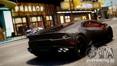 Lamborghini Huracan LP610-4 SuperTrofeo для GTA 4 вид слева