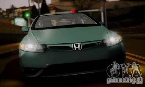 Honda Civic SI 2006 для GTA San Andreas вид сзади слева