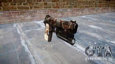 Пистолет Kimber 1911 Zombies для GTA 4