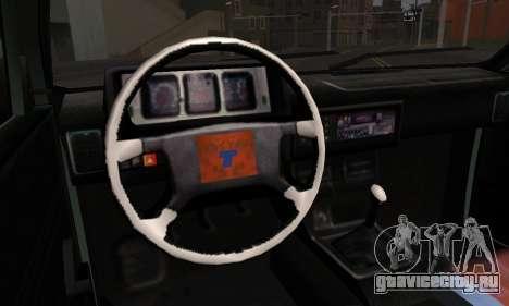 Tofas Dogan SLX 1999 1.6 для GTA San Andreas вид сзади слева