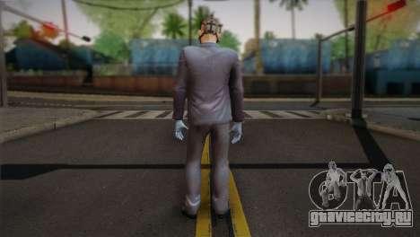Hoxton From Pay Day 2 v1 для GTA San Andreas второй скриншот