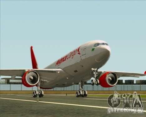 Airbus A330-243F Avianca Cargo для GTA San Andreas колёса