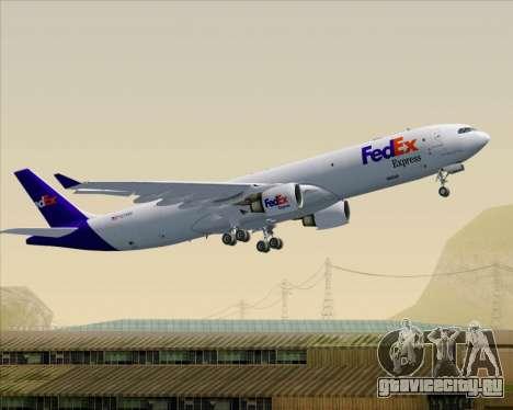 Airbus A330-300P2F Federal Express для GTA San Andreas колёса