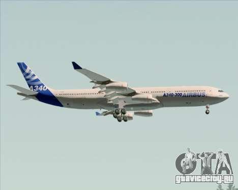 Airbus A340-311 House Colors для GTA San Andreas колёса