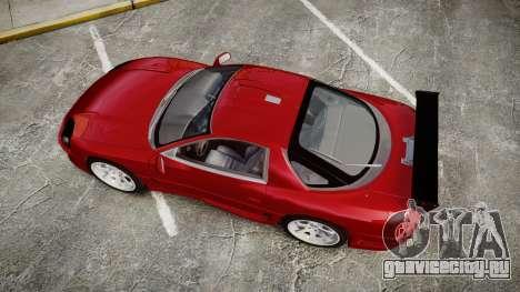 Mitsubishi 3000GT Tuner для GTA 4 вид справа