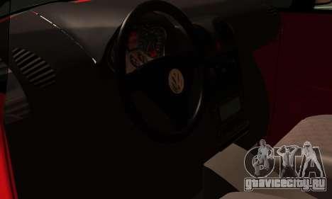 Volkswagen Caddy для GTA San Andreas вид сзади