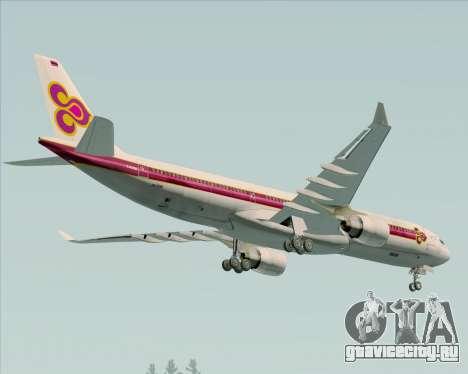 Airbus A330-300 Thai Airways International для GTA San Andreas двигатель