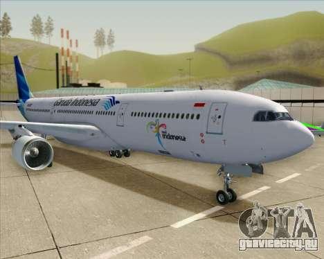 Airbus A330-300 Garuda Indonesia для GTA San Andreas