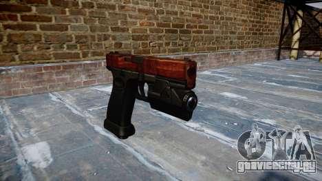 Пистолет Glock 20 bacon для GTA 4