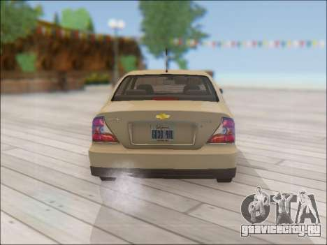 Chevrolet Evanda для GTA San Andreas вид справа