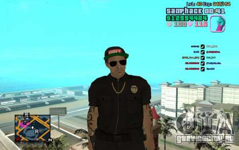 C-HUD GTA Vice City edited SampHack для GTA San Andreas