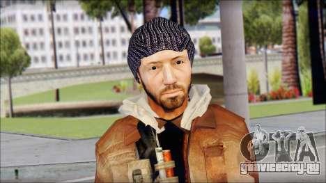 Division Skin для GTA San Andreas третий скриншот