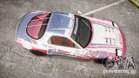 Mazda RX-7 Forge Motorsport для GTA 4 вид справа