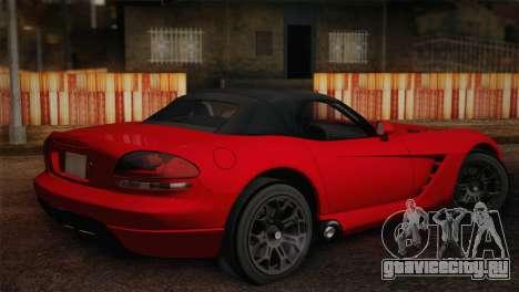 Dodge Viper SRT-10 2003 для GTA San Andreas вид слева