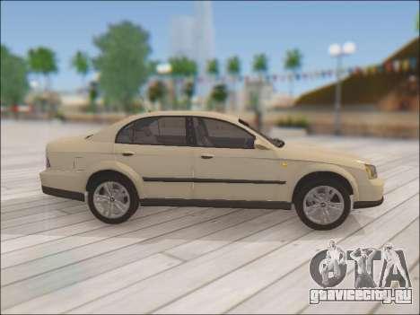 Chevrolet Evanda для GTA San Andreas вид изнутри