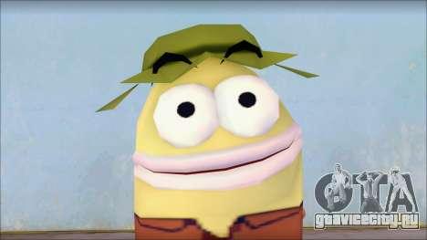 Campguy from Sponge Bob для GTA San Andreas третий скриншот