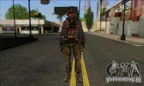 Task Force 141 (CoD: MW 2) Skin 10 для GTA San Andreas